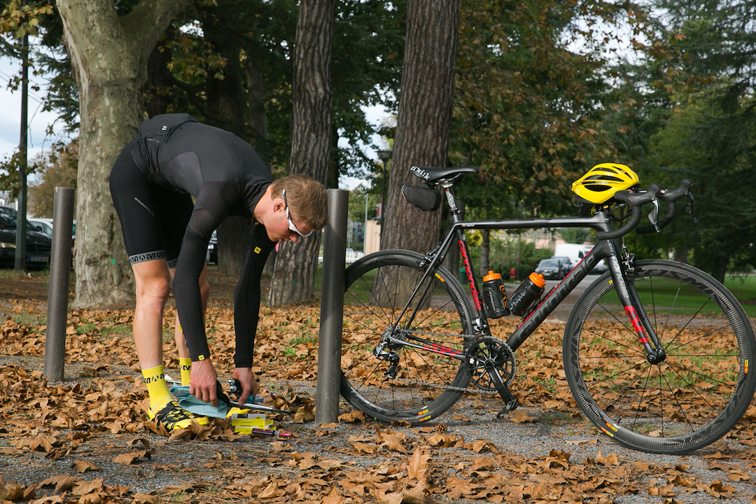 Learn the basics of bike maintenance before you leave