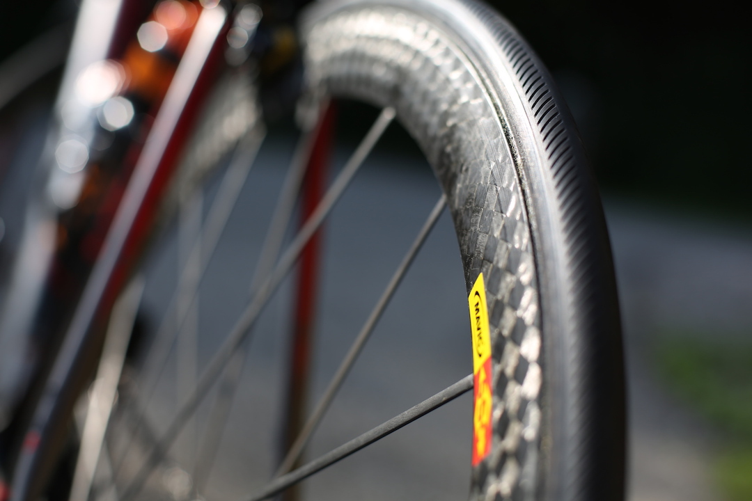 Try and fit new tyres before a trip and reduce the weight of taking too much spare rubber