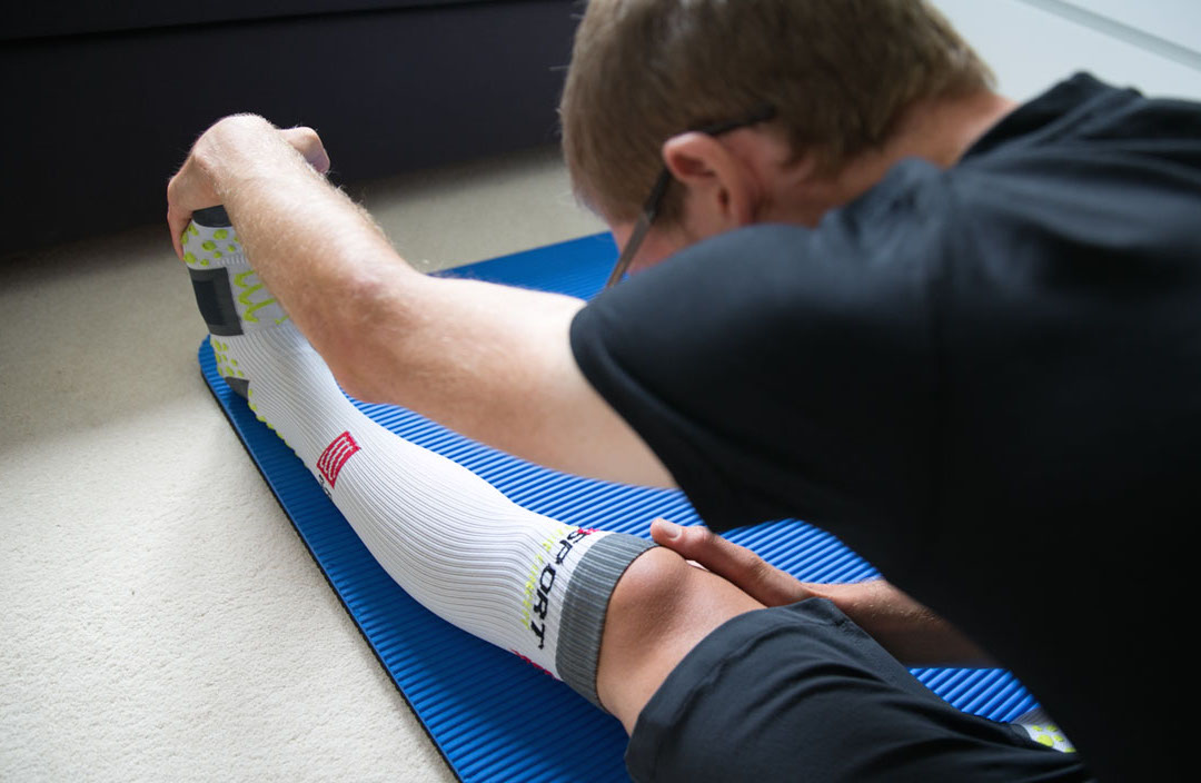 A regular stretching regime keeps your body supple and reduces the risk of injury