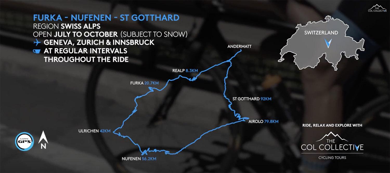 Giants of Switzerland Furka Nufenen St Gotthard Col