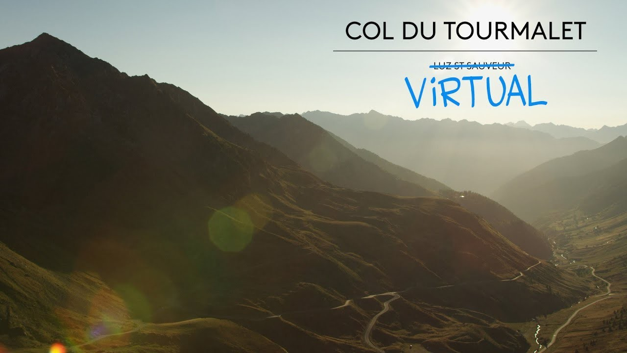 How does the virtual Tourmalet compare to the real deal?